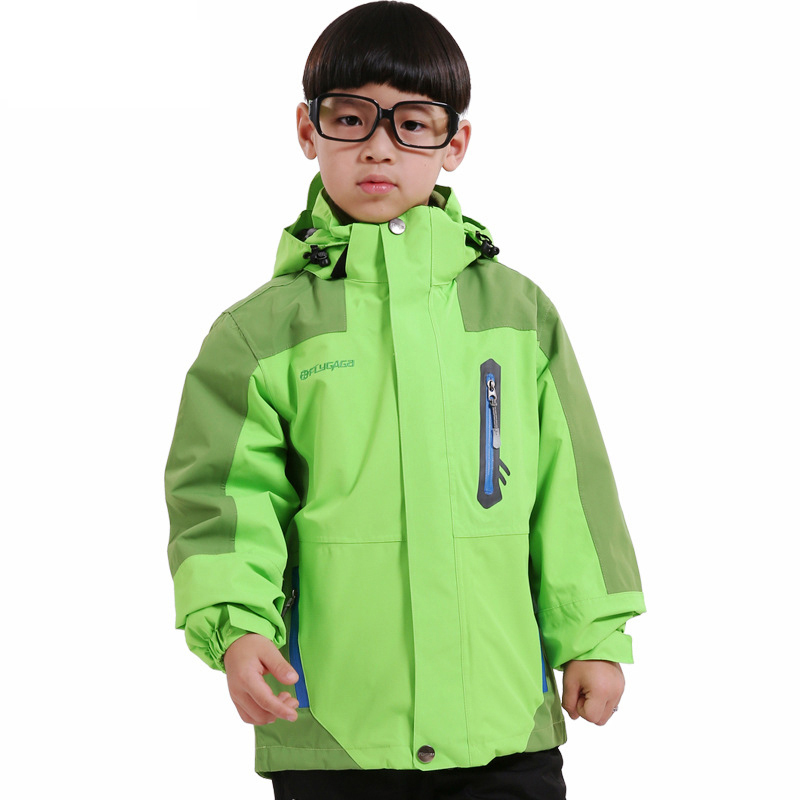 New Kids 3in1 Winter Outdoor Sport Camping Trekking Ski Snowboard Hiking Jacket Boys Girls Windstopper Waterproof Children Coat hot sale camping climbing kids 3in1 outdoor sport waterproof jacket girls boys hiking coat ski casaco 8 16y child fleece liner