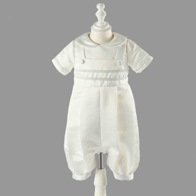 New vintage infant kleid baby jungen taufe dress elfenbein hohe ...