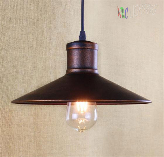 industrial pendant lights vintage edison hanging lamp e27 110 220v pendant lamps rustic home decor restaurant