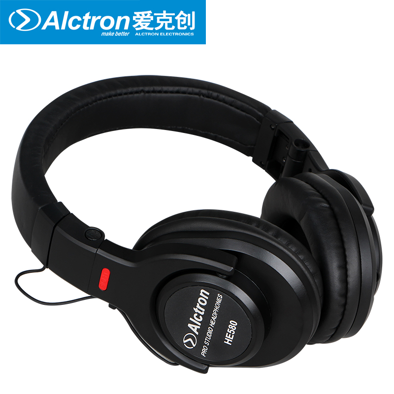 Alctron HE580 totally enclosed cable monitoring recording head type music headsets noise cancelling monitoring headphones