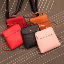 Heißer Verkauf frauen Handtaschen Schulter Damen Leder Großen Ranzen Rucksack Taschen Reise Weiblichen Kupplung Frauen Messenger Bags Mode