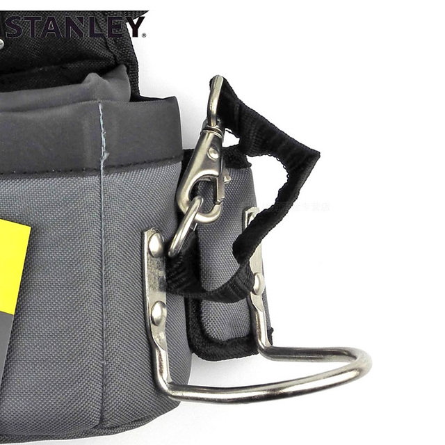 Stanley carpenters tool waist bag storage hammer holder bags work pocket gadget utility pouch with adjustable belt electricians 3