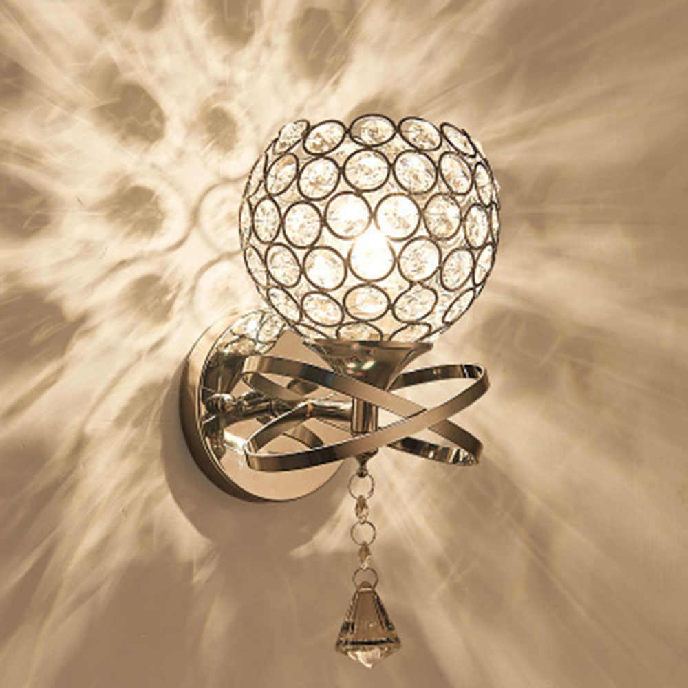 Hghomeart Освещение номер светодиодный настенный светильник кристалл-Лампы для мотоциклов 110 В-220 В прикроватной тумбочке Лампы для мотоциклов чтения Лампы для мотоциклов стены настенный Бра кристалл