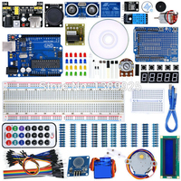 UNO Project Super Starter Kit With Tutorial 5V Relay UNO R3 Power Supply Module Servo Motor