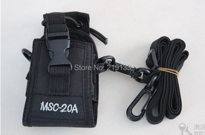 Multifunktions to-vejs radiokasseholder MSC-20A til BaoFeng UV-5R-serie GT-3 Walkie Talkie