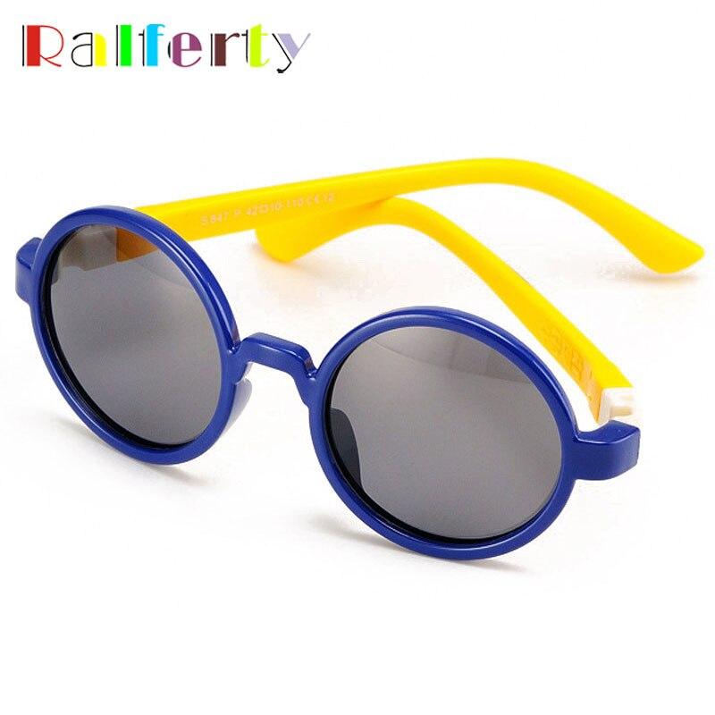 ab0655ec3 Cheap Ralferty Vintage niño ronda de gafas de sol polarizadas chicos chica  Anti UVA gafas de