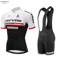 RUIKODOM Summer Men S Short Sleeve Cycling Jersey Set With Bib Ropa De Ciclismo Maillot Ciclismo