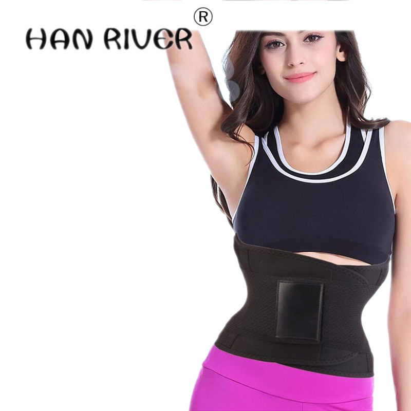 HANRIVER hot selling Women Rubber Waist Trainer for women Body shape Beautiful body Rubb ...