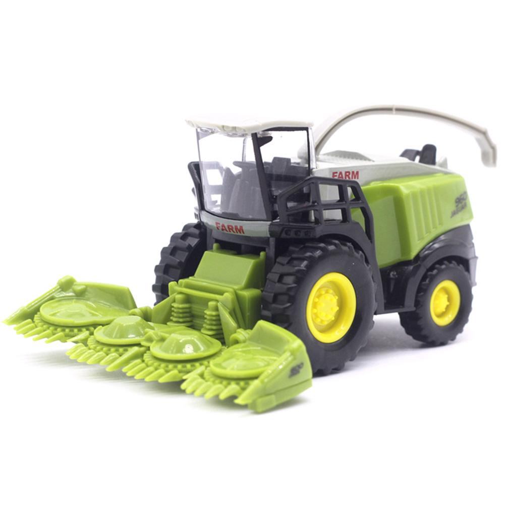 13,5x5,3x6,5 cm juguete cosechadora agrícola aleación modelo de coche de juguete los niños Mini coche modelo de camión