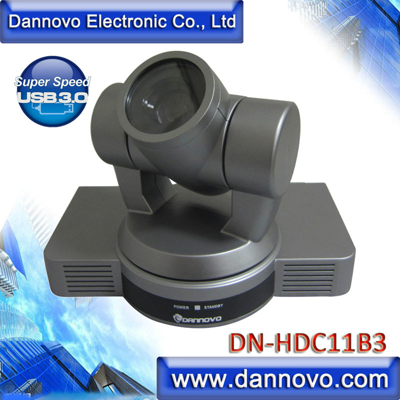 DANNOVO USB3 Video Conference Camera, Support Skype,Microsoft Lync, Cisco WebEx, Polycom, Vidyo, Zoom.US, Easy Meeting, Vsee