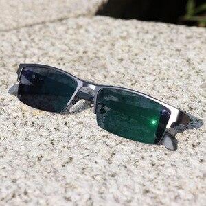 Image 4 - Óculos de leitura multifocal wearkaper, pernas flexíveis, armação metade para presbiopia