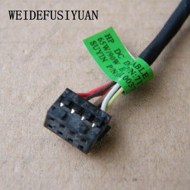 Laptop Notebook AC DC gniazdo zasilania wtyczka w port ładowania złącze wtykowe uprząż kabel do HP Envy 240 246 G3 G1 215 G3