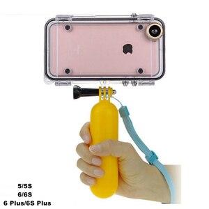 Image 1 - Toque mergulho caso do telefone móvel sacos de armazenamento toque à prova dwaterproof água para gopro hero programa 170 graus lente grande angular para iphone