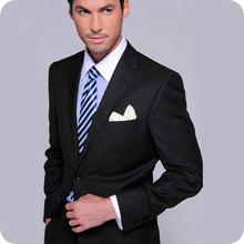 Black Business Men Suits Pants Prom Wedding Suit Custom Made Groom Tuxedos Latest Coat Designs Terno Masculino 2Piece