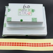 50 шт. 4,7 5,5 5,8 6,5 6,3 6,8 7 7,9 8 9,7 10,5 10,1 12,3 12,9 дюймов ОСА оптический прозрачный клей ЖК-дисплей сенсорный Стекло объектив пленка