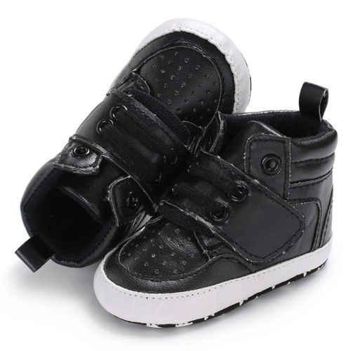 PUDCOCO/Обувь для новорожденных мальчиков и девочек с мягкой подошвой; теплые зимние кожаные ботинки; нескользящие кроссовки; 0-18M