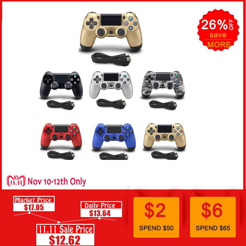 Wired Gamepad For PS4 Controller For Playstation 4 for Dualshock 4 Joystick Gamepads For PS4 Console цена