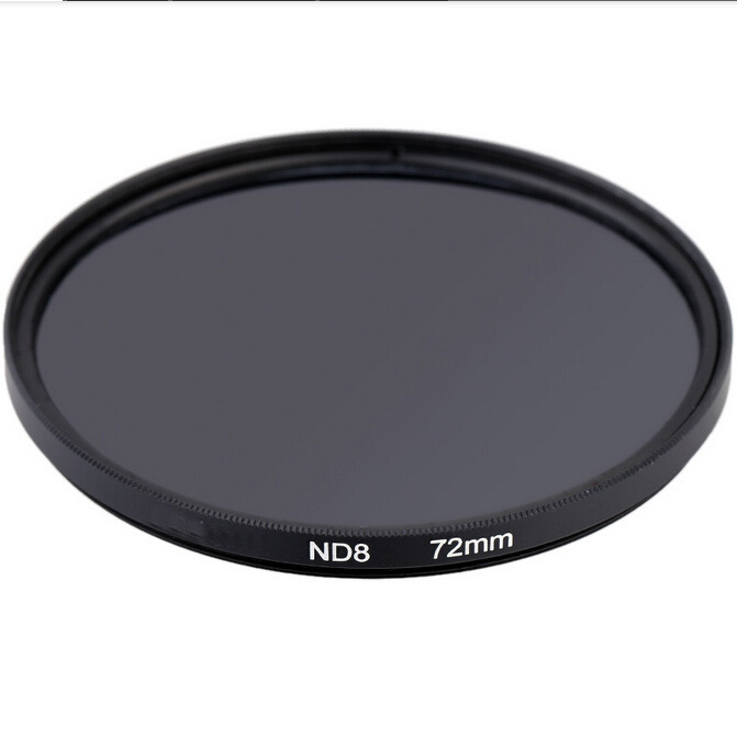 48673639537 72mm Neutral Density Filter ND8 Filter With Color Package For Camera Lens