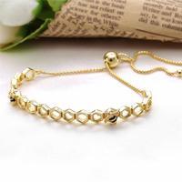 Ajax 100% 925 Sterling Sliver Bee Bracelet Fit Pandora For Women Birthday Gift