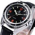 ORKINA Мужчины Кварцевые Часы Ремень Из Натуральной Кожи Мужчины Военно-Спортивный Наручные Часы Календарь Мода Relogio Masculino подарок