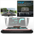 Мобильный навигационный кронштейн Новый HUD Кронштейн Автомобильный Универсальный мобильный телефон головка-вверх проекция голова-вверх д...