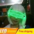 Máscaras de Dança DJ Stage Show de Luz Laser RGB lasers LED óculos de luz para DJ Clube/Festa/Bares