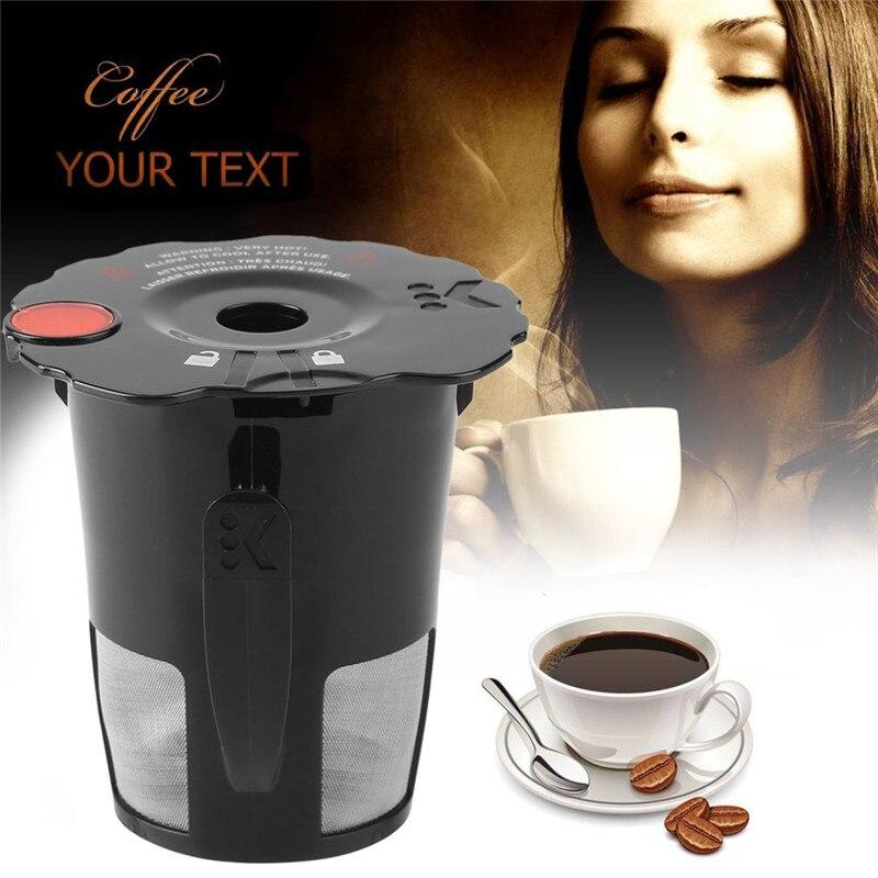 1pcs Coffee Filter Cup Convenient Clever Capsule Reusable Single Plastic Coffee Filter Mesh Cup Espresso Nescafe Filter Capsules