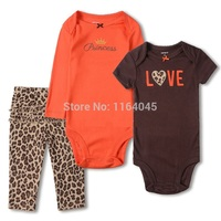 GSLL3 038 Original Baby Girls 3 Piece Set With 2 Pieces Bodysuits And 1 Piece Pants