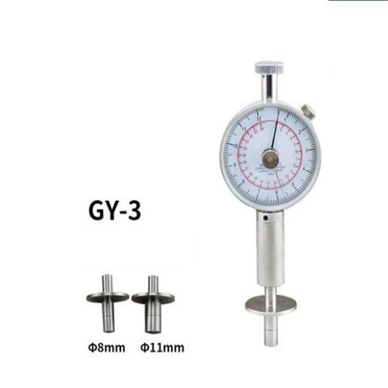 GY-3 Фрукты пенетрометр Фрукты склерометра Фрукты твердости фруктов твердости 0,5-12 кг/см 2