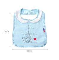 10 Styles 2pcs Lot Bibs Burp Cloth EVA Waterproof Infants Cartoon Cute Bibs Baby Burp Cloths
