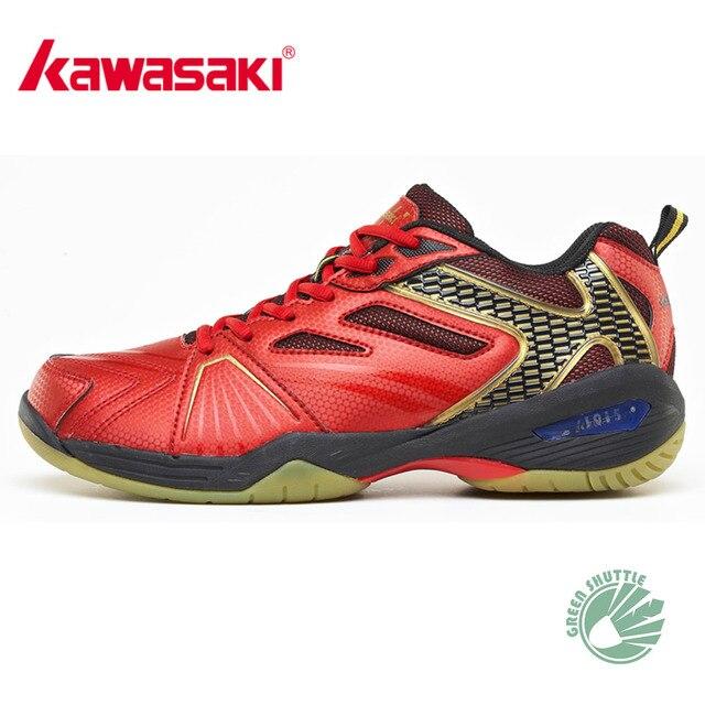 52451659c1a3 100% Original Kawasaki Badminton Shoes Men And Women Badminton Training  Shoes Whirlwind Series K-330 331