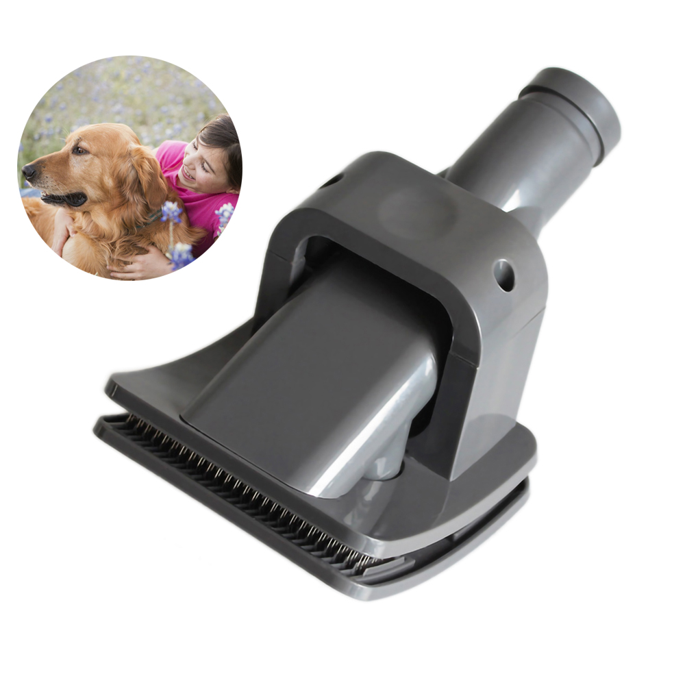 Vacuum Cleaner Brush Dog Pet Groom Tool for Dyson Animal Parts Allergy Dust Brush Remover Grooming Vacuum Cleaner Accessories image