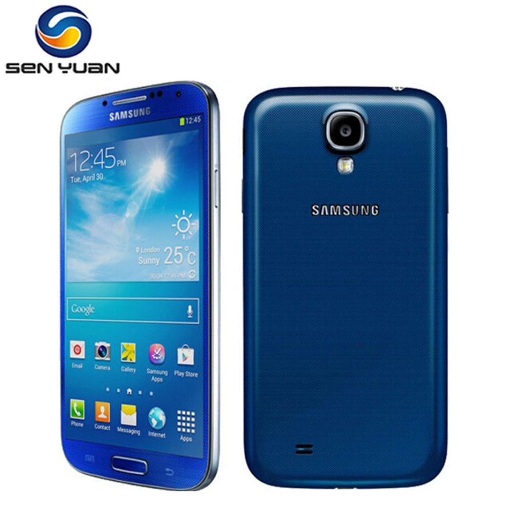 Original Entsperrt Samsung Galaxy S4 i9500 i9505 Handy Handy 3G & 4G 5,0 2GB RAM 16GB ROM s4 renoviert Smartphone