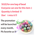 $0.81Great Sales ! Promotion 20MM 100Pcs/Lot Mix Color Mix Styles ABS Fake Pearl Whole Beads Printed For Decoration
