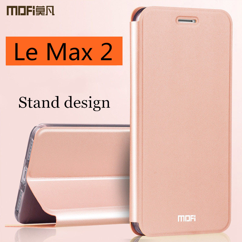 LeEco Letv Le Max 2 caso MOFi Le X820 x829 caso cubierta de cuero Flip cubierta Le max2 cubierta x821 coque fundas vivienda 5,7