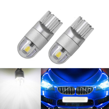 2x Canbus Car LED T10 W5W 2LED Parking Light For BMW E46 E39 E91 E92 E93 E28 E61 F11 E63 E64 E84 E83 F25 E70 E53 E71 E60 image