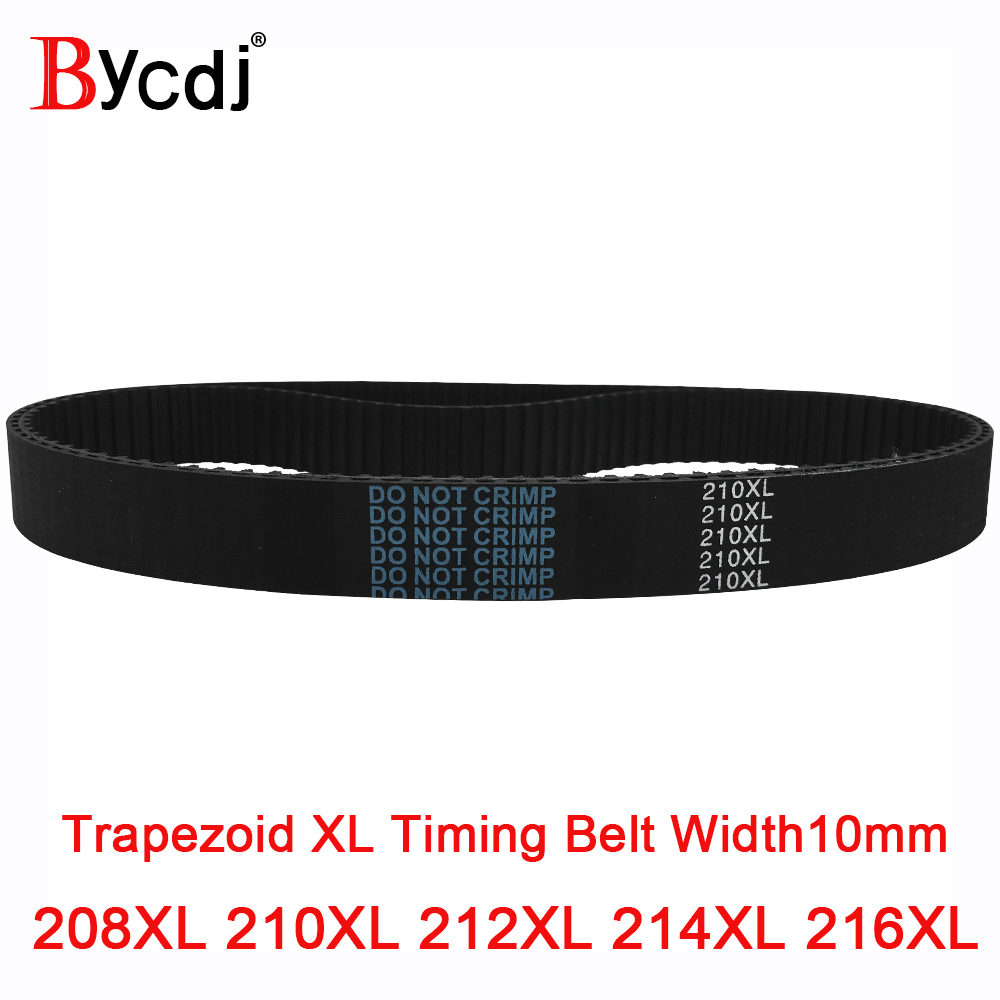 Rubber Timing Belt 220XL Synchronous Closed Loop Timing Belt Pulleys 10 mm Wide