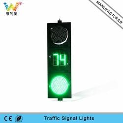 300mm Autos Fahrzeug Ampel Licht PC Gehäuse Road Kreuzung Kreuzung Sicherheit Countdown Timer Licht