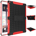 Shockproof Heavy Duty Case For iPad 23456 Air 1 2 Protect Skin Rubber Hybrid Cover Stand Case For iPad mini 123    3 In 1  Case