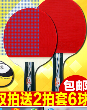 ФОТО Table tennis racket 2 authentic finished only beginners penhold grip