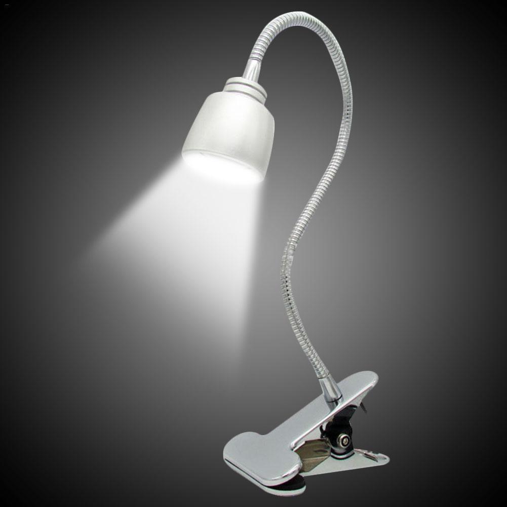 Dimmable LED clip table lamp LED reading Desk light 14 led ...