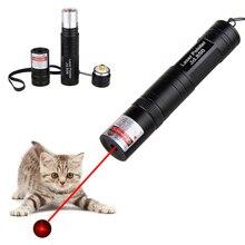 Красная лазерная указка мощная лазерная ручка высокая мощность лазерный светильник 532нм 5 мВт горящая спичка Видимый луч ведущий дистанционная лазерная