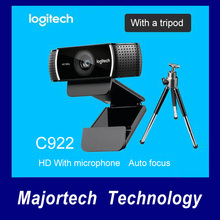 New on sale! . . Logitech webcam HD C9221080P full 720P built-in microphone video call recording, background switch (including