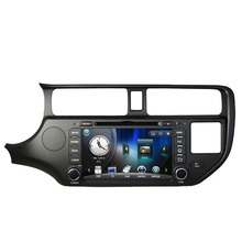 Free Shipping 8 inch Car DVD Player GPS Navigation For Kia Rio K3 Pride 2012 2013 2014 with Bluetooth, Ipod 1080P RDS