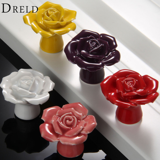 1Pc Furniture Handle Cabinet Knobs And Handles Door Knobs Drawer Closet  Cupboard Kitchen Pull Handle Furniture