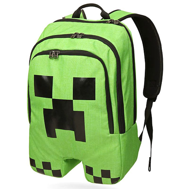 Teenager Minecraft Backpack Boys Girls School Bag Hot Cartoon Primary Schoolbag Men Women Game Rucksack Mochila Sac A Dos BP0251 new shark backpack women black bookbags mochila colegio fashion primary school backpacks cartoon boys rucksack men bagpack bolsa