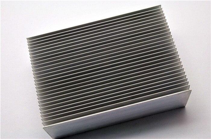 aluminum alloy 100 69 36mm dense tooth radiator power amplifier heat sink electronic radiator in. Black Bedroom Furniture Sets. Home Design Ideas
