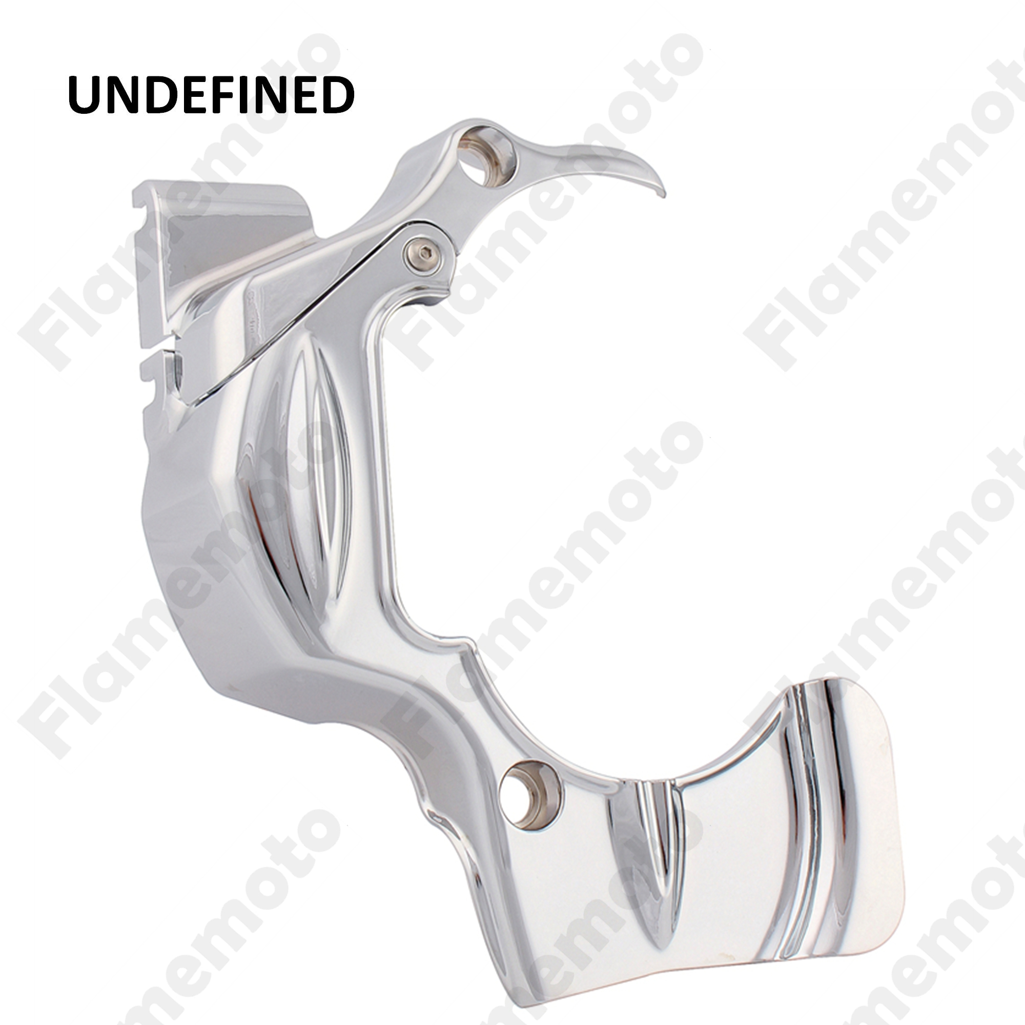 Motorcycle Transmission Shroud Cover Trim For Harley Touring CVO FLHT FLHX FLHR 2009 2010 2011 2012 2013-2016 Chrome UNDEFINED chrome rear trunk lid cover trim for toyota highlander 2009 2010 2011 2012 2013