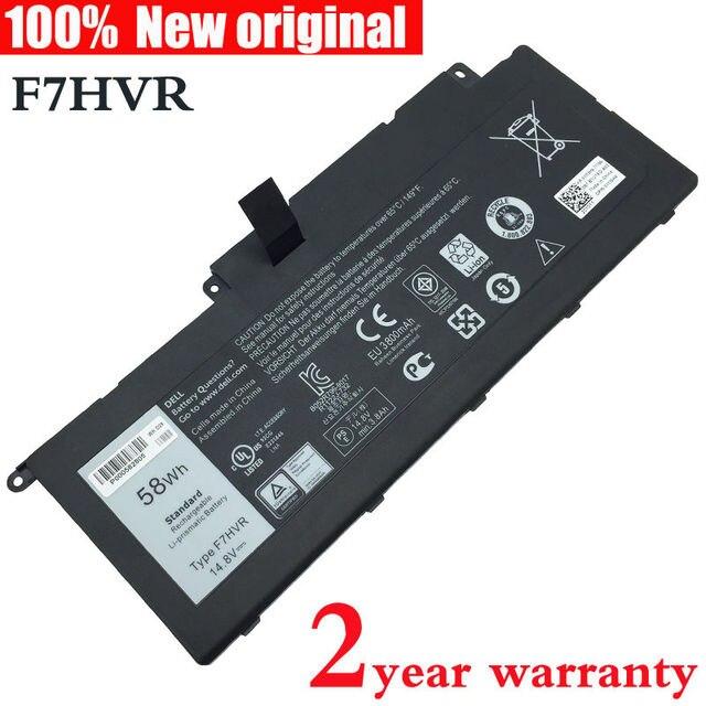 Original Laptop Battery for DELL Inspiron 15 7537 17 7737 F7HVR 062VNH G4YJM T2T3J 4ICP5/67/90 14.8v 58wh