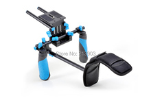 DSLR/VCR Rig Shoulder Pad Mount for 15mm Rail System Follow Focus Canon Nikon